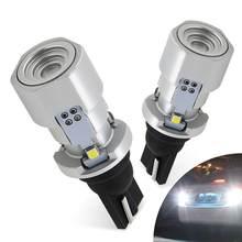 2x T16 W16W LED Canbus Error gratuito T15 bombilla 921 912 lámpara Luz de retroceso de marcha atrás para Audi BMW VW Toyota Kia Ford Mercedes Opel, Honda