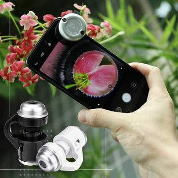 LED mikroskop na telefon komórkowy zewnętrzna głowica mikroskopu LED Light 30 razy HD Micro Fisheye powiększająca biżuteria szklana Jade Identific tanie i dobre opinie isfriday CN (pochodzenie) Other Z tworzywa sztucznego Wysokiej Rozdzielczości Monokularowy
