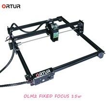 ORTUR Laser Master 2 7w/15w/20w 40x43cm Laser Engraver CNC Desktop Engraving DIY Machine Kit