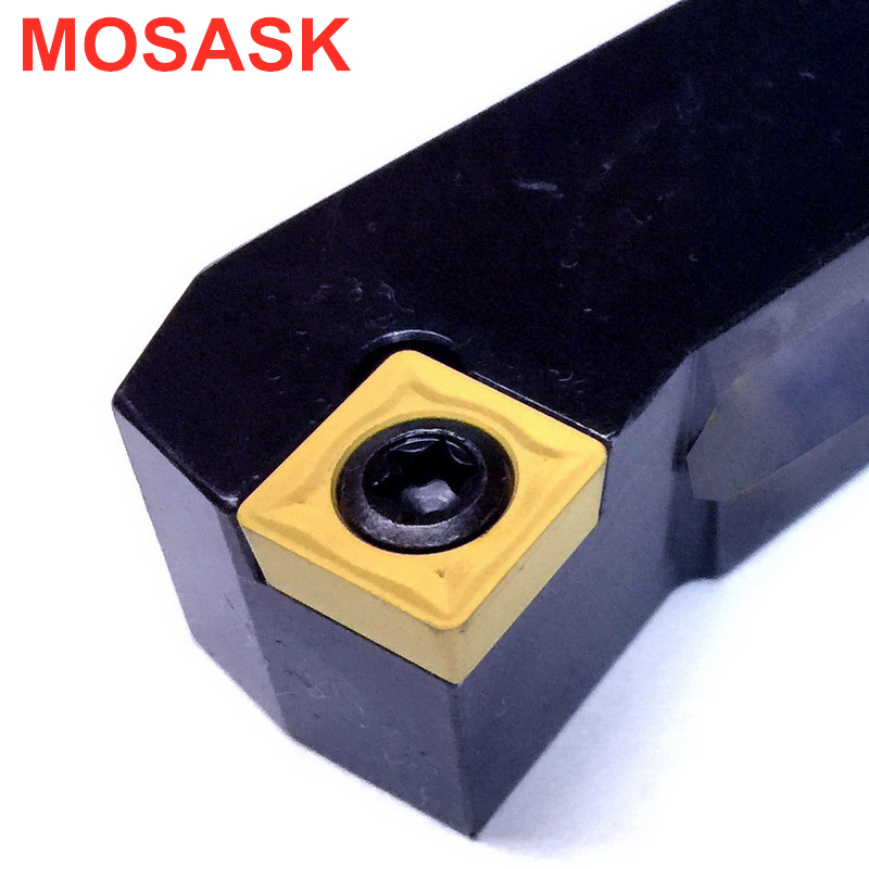 MOSASK Adapter SSKCR1212H09 Cutter SSKCR Boring Bar Indexable Holder CNC Lathe Carbide Insert External Turning Tools