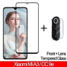 Tempered Glass For Xiaomi Mi A3 screen protector Camera Hardness lens Film CC9e