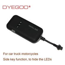 DYEGOO GPS tracker for car/vehicle 4 band GPS tracker GT02A Google with platform real time anti-theft