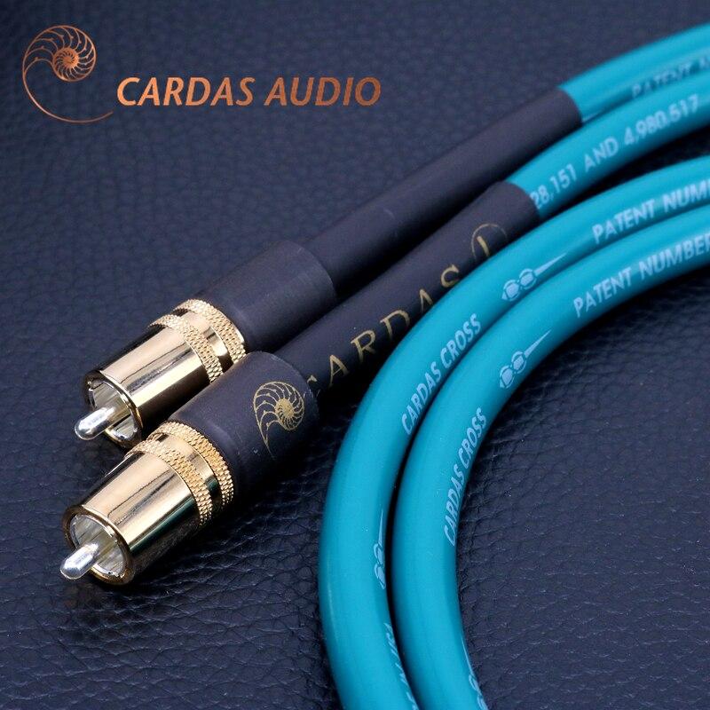 Бескислородный Медный + посеребренный экранирующий Hi-Fi аудио усилитель CARDAS, кабель для сигнала canon, аудиокабель RCA lotus в XLR canon