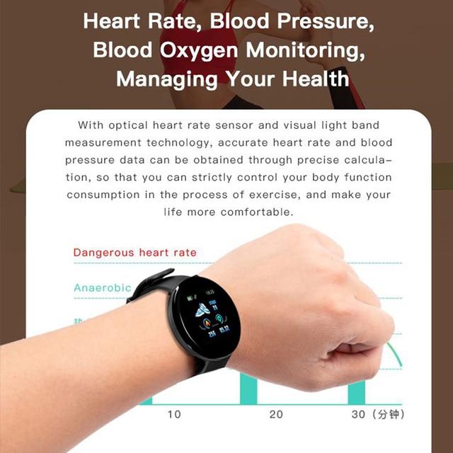 Sport Smart Watch Men Smartwatch Women Smart Watch Blood Pressure Heart Rate Monitor Waterproof Smartwatch Watch For Android IOS 2