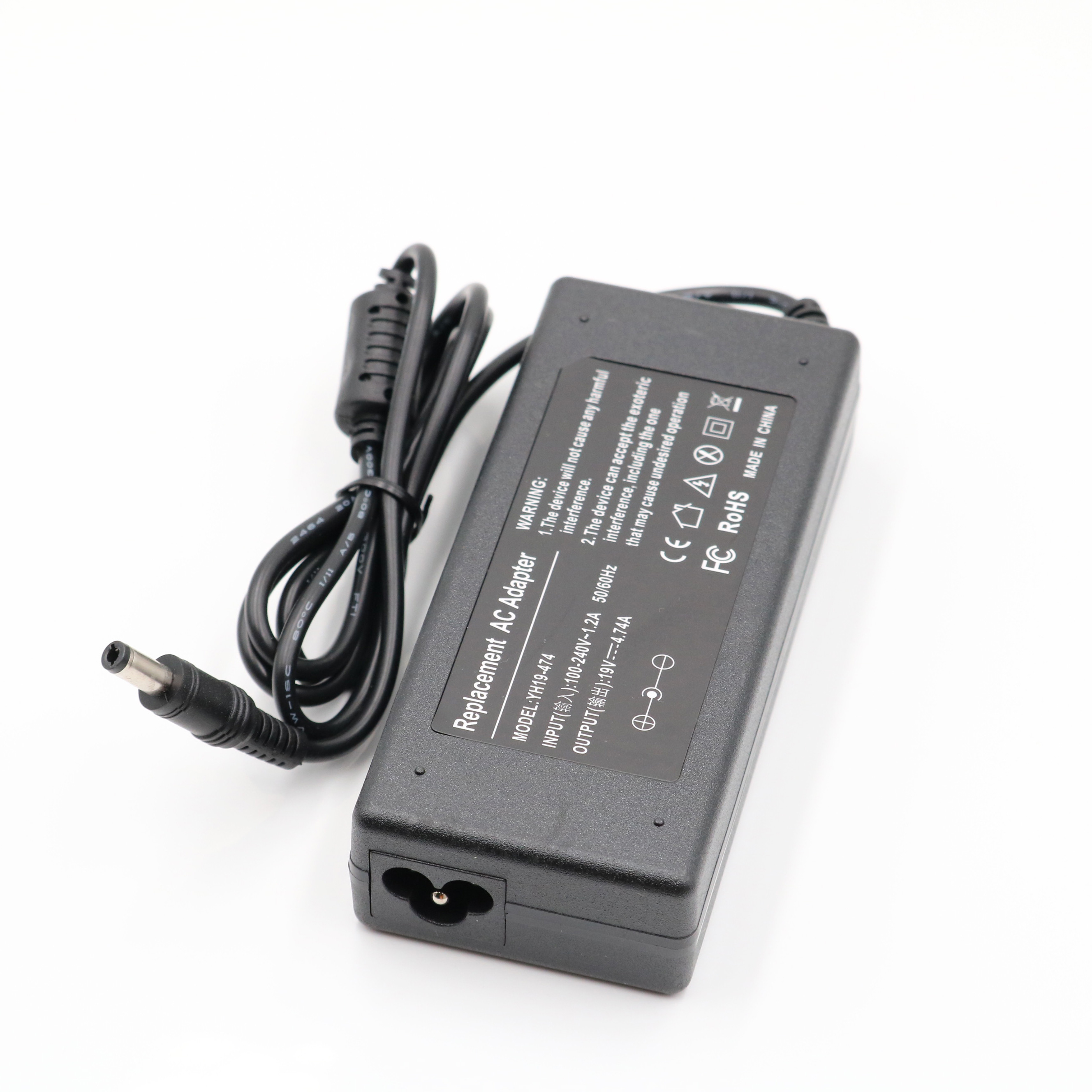 19V 4.74A AC Power Supply Notebook Adapter Charger ASUS Laptop A46C X43B A8J K52 U1 U3 S5 W3 W7 Z3 Toshiba/HP DC Plug 5.5*2.5mm