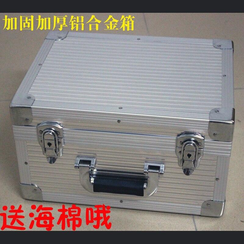 جعبه ابزار جعبه ابزار جعبه ابزار آلومینیوم با کیفیت بالا جعبه پرونده جعبه فایل تجهیزات مورد ایمنی مقاوم در برابر ضربه با فوم پیش از برش