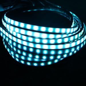 Image 2 - Leepee 4 × 8 underglow足回り音楽アクティブシステムサウンドネオンライトフレキシブルネオンストリップ、ledストリップ車underglow装飾周囲ランプ