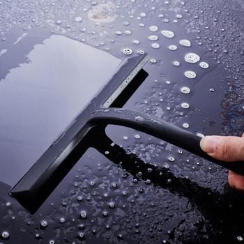 Wycieraczka prysznicowa wycieraczki do szyb skrobak do czyszczenia z silikonowym ostrzem i haczyk do zawieszania do łazienki kuchnia czyszczenie szyb samochodowych tanie i dobre opinie CN (pochodzenie) Na stanie Glass Wiper Silicon iron Okno