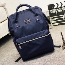 Backpack female Oxford cloth college bag  men fashion trend casual simple student