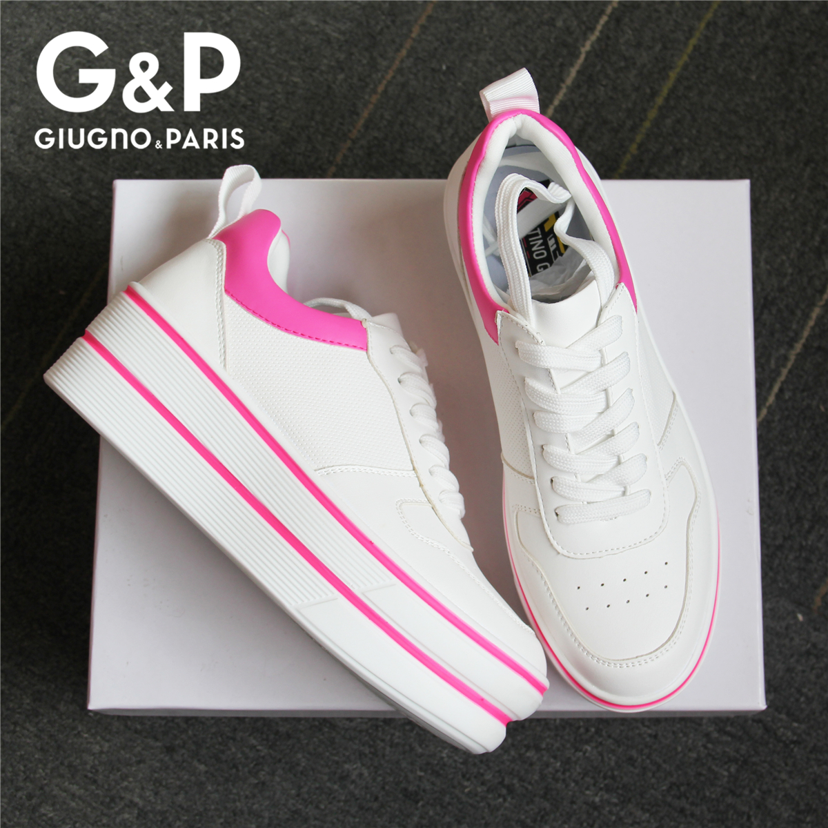 2020 Spring Sneakers Brand Design Women Shoes High Platform Fashion Woman New Casual Style