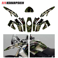 KSHARPSKIN motorcycle sticker protection body reflective decal decorative film for BMW R1200GS R1200 gs 2008 2012