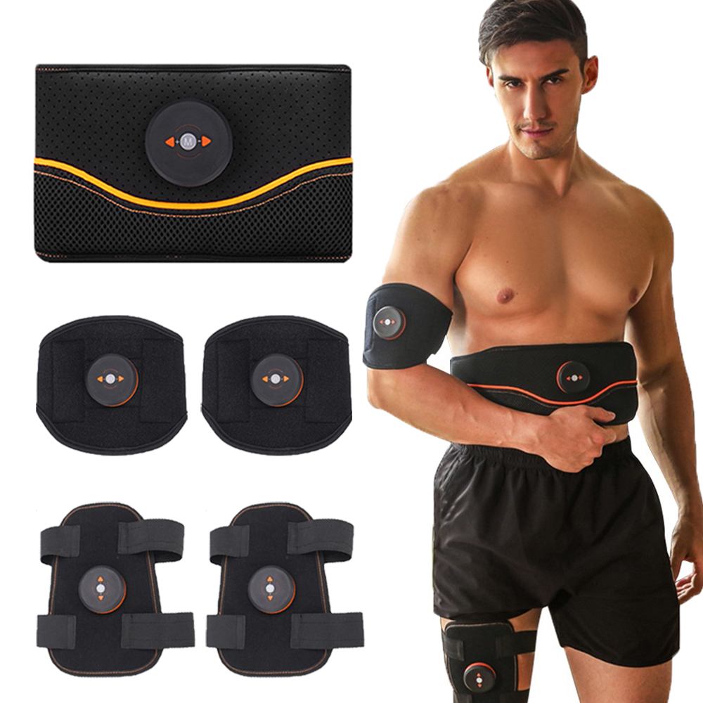 Fitness Abdominal Muscle Stimulators Waist Belly Leg Calf Muscle Exerciser Body Slimming Vibration Belt Arm Massager Workout
