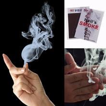 Волшебный трюк курит сюрприз Шуточный розыгрыш мистический Забавный волшебный трюк Пальчиковый дым большой палец дым