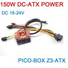 DC DC ATX PSU PICO BOX 16 V 24 V 150W Pico ATX Interruttore Picco PSU 24pin MINI ITX DC per Auto PC ATX di Alimentazione di Alimentazione del PC Del Computer