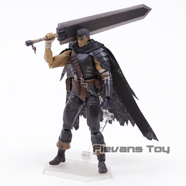 Figma 359 Berserk Guts Black Swordsman Ver Repaint Edition PVC Action Figure Collectible Model Toy 4