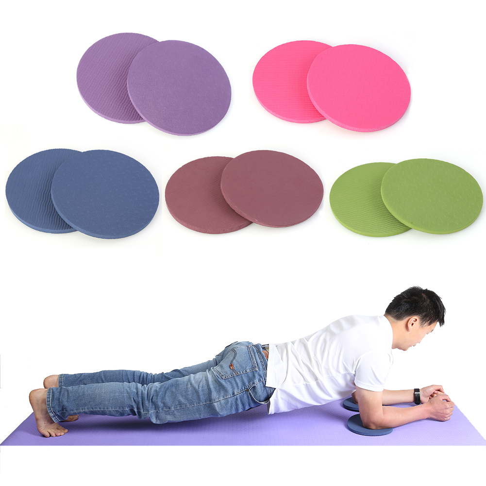 Safety Fitness Anti-slip Yoga Mats Round Knee Pad Cushion TPE Plank Push-ups For Household Yoga Sporting Ornaments Dropshipping