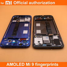 6.39 parmak izi yeni AMOLED LCD xiaomi Mi 9 Mi9 ekran xiaomi 9 LCD ekran dokunmatik ekran Digitizer meclisi
