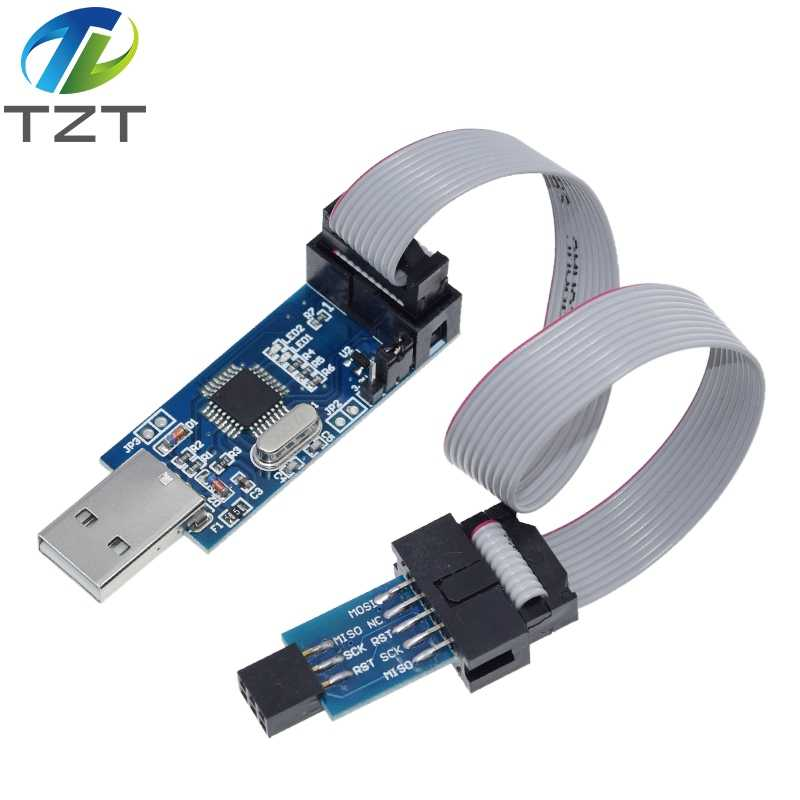 USBASP USBISP AVR программатор USB ISP USB ASP ATMEGA8 ATMEGA128 с поддержкой Win7 64