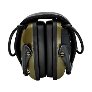 Image 5 - Foldable green electronic shooting earmuffs outdoor sports anti noise sound amplification hearing protection headphones