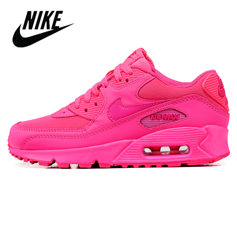 NIKE AIR MAX 90 Authentic ESSENTIAL Running Shoes For Women Sport Outdoor Sneakers Comfortable Durable Breathable 345017-601