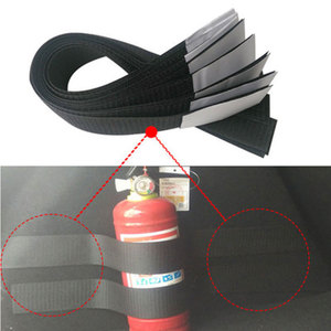 Image 4 - 4 ชิ้น/เซ็ตรถTrunk Organizerเครื่องดับเพลิงMountสายรัดกระเป๋าเก็บเทปยึดวงเล็บผ้าพันแผลสติกเกอร์สายรัด