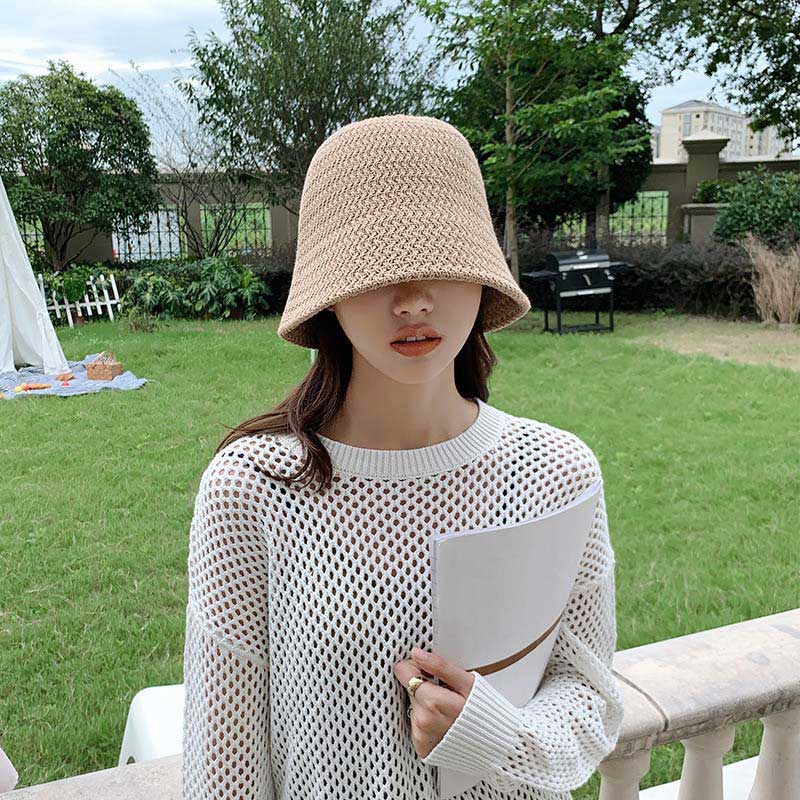 2021 New Summer Hip Hop Hat Panama Bucket Hats for Women Felt Wool Hat Girls Autumn Fashion Fur Cap Beanies Sombreros De Mujer