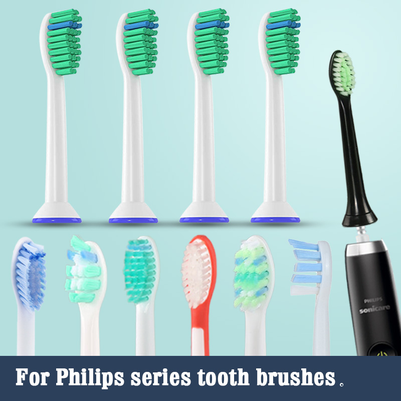 Philips sonicare Toothbrush heads for Replacement electric tooth brush head HX6013/66 HX6930 HX9340 HX6950HX6710HX9140 HX6530 5 image