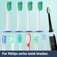 Philips Replacement Toothbrush heads for philips sonicare electric tooth brush head Diamond,FlexCare,HealthyWhite, EasyClean 5 philips sonicare flexcare sonic electric toothbrush hx6972 10 with water proof rechargeable for adult toothbrush white