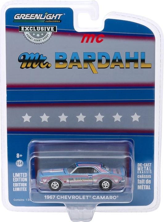 Greenlight 1:64 1967 chevrolet camaro cor liga de metal diecast carros modelo veículos de brinquedo para crianças menino brinquedos presente