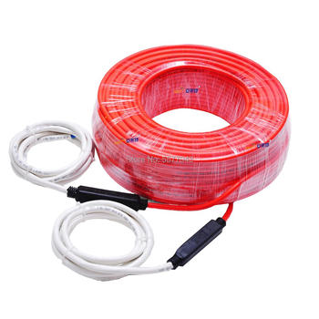 Double Conductor Floor heating Cable For Warming Tile 18W/M2 230V