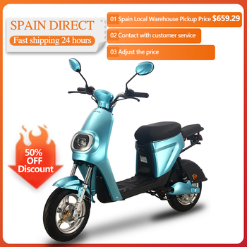 25km/h 48V 20AH 350W Electrical Motorcycle Scooter Electric Motor Motorcycle Adults Men Women Electric Bicycle Bike Vehicle 1