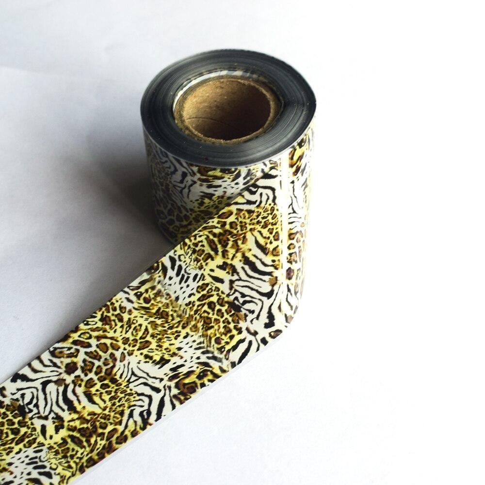 50m * 4cm animal serpentina unha arte