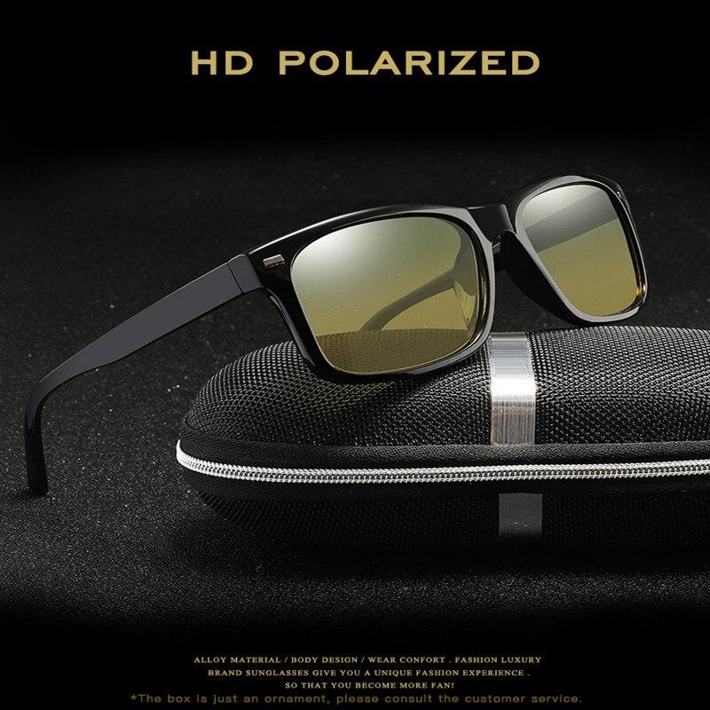 Driver Goggles Day And Night Driving Glasses Polarized Night Vision Goggles HD Oculos Anti-glaring Anti-UV Unisex Car Glasses