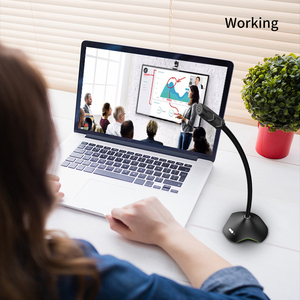 Image 5 - PopuPine מחשב מיקרופון 360 ° להתאים סטודיו דיבור מיקרופון משחקי USB משוחח מיקרופון מחשב שולחני מחשב נייד