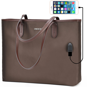 OSOCE Briefcase Office 15.6 '' Laptop Totes For Women Business Nylon Waterproof Handbag Ladies Office Water Resistant Travel Bag(China)