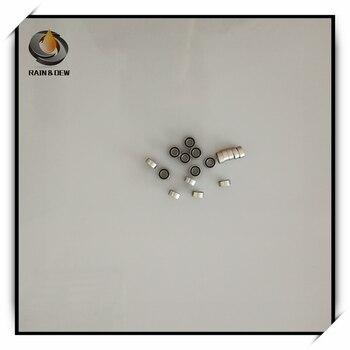 Rodamientos de bolas de acero inoxidable 10cs ABEC-7 srm63 2RS 3x6x2,5 de alta calidad