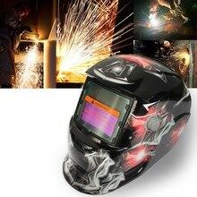 Новая Профессиональная Солнечная сварочная маска Авто затемнение сварочный шлем блики и красочные