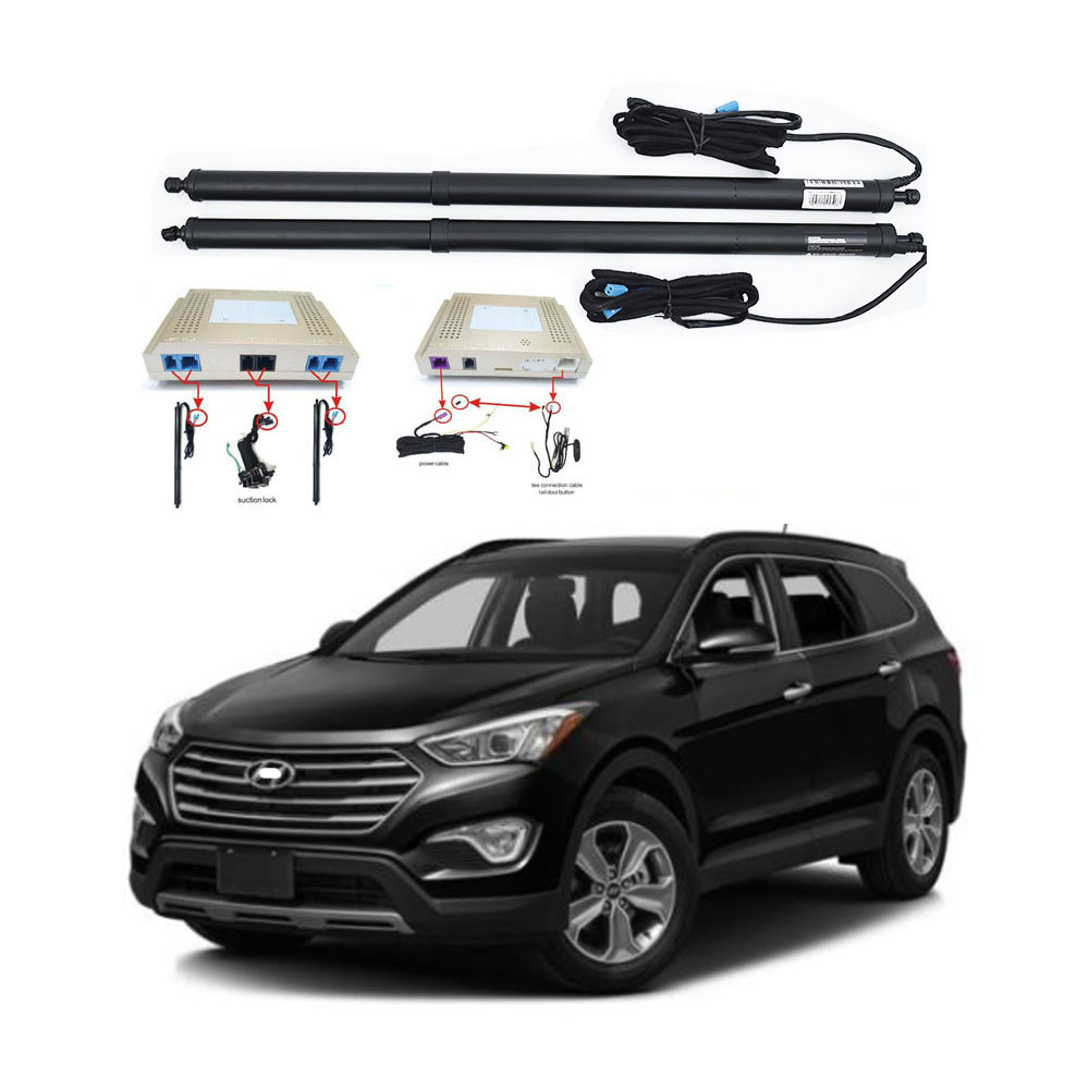 New Electric Tailgate Refitted For Hyundai IX45 / SANTA FE Tail Box Intelligent Electric Tail Door Power Tailgate Lift Lock