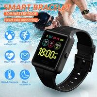 SKMEI Smart Sport Watch Men Fashion Digital Watch Multifunction BlueTooth Health Monitor Waterproof Watches relogio digital 1526