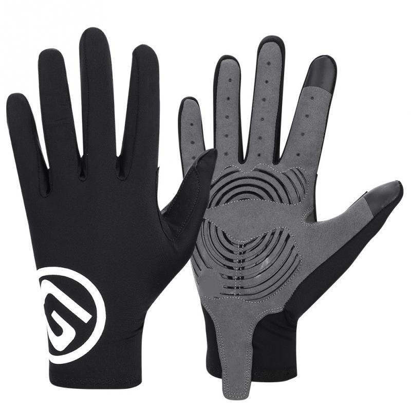 Велосипедные перчатки Осень Зима сенсорный экран Длинные Полные Пальцы велосипедные перчатки для верховой езды спортивные фитнес перчатк