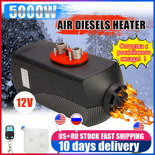 Lcd-Monitor Trucks Air-Parking-Heater Rv Motorhome Remote-Control Diesels 12V Car 5000W