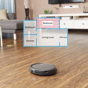 Image 4 - Ilife a4s robô aspirador de pó poderosa sucção para tapete fino & piso duro grande dustbin função miniroom recarga automática