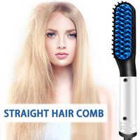 Nouveau mode multifonctionnel peigne à cheveux rapide barbe lisseur friser bigoudi Show Cap hommes beauté outil de coiffure