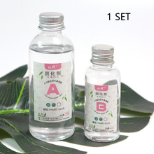 Making-Accessories Crafts Glue Epoxy Transparent Resin Hard Clear Ultra Soft Crystal