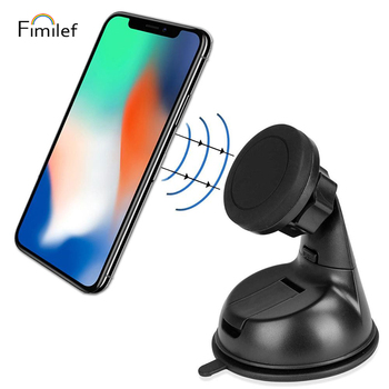 Auto Magnet Universal Mobile Phone Car Suction Cup Mount Holder For iPhone 7 8 11 Pro max xiaomi Smartphone Desk Stand Holder