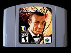 """64 bitowych gier *** GOLDFINGER 007 (wersja USA!! Hack z """"Goldeneye""""!!) w Oferty dla graczy od Elektronika użytkowa na"""