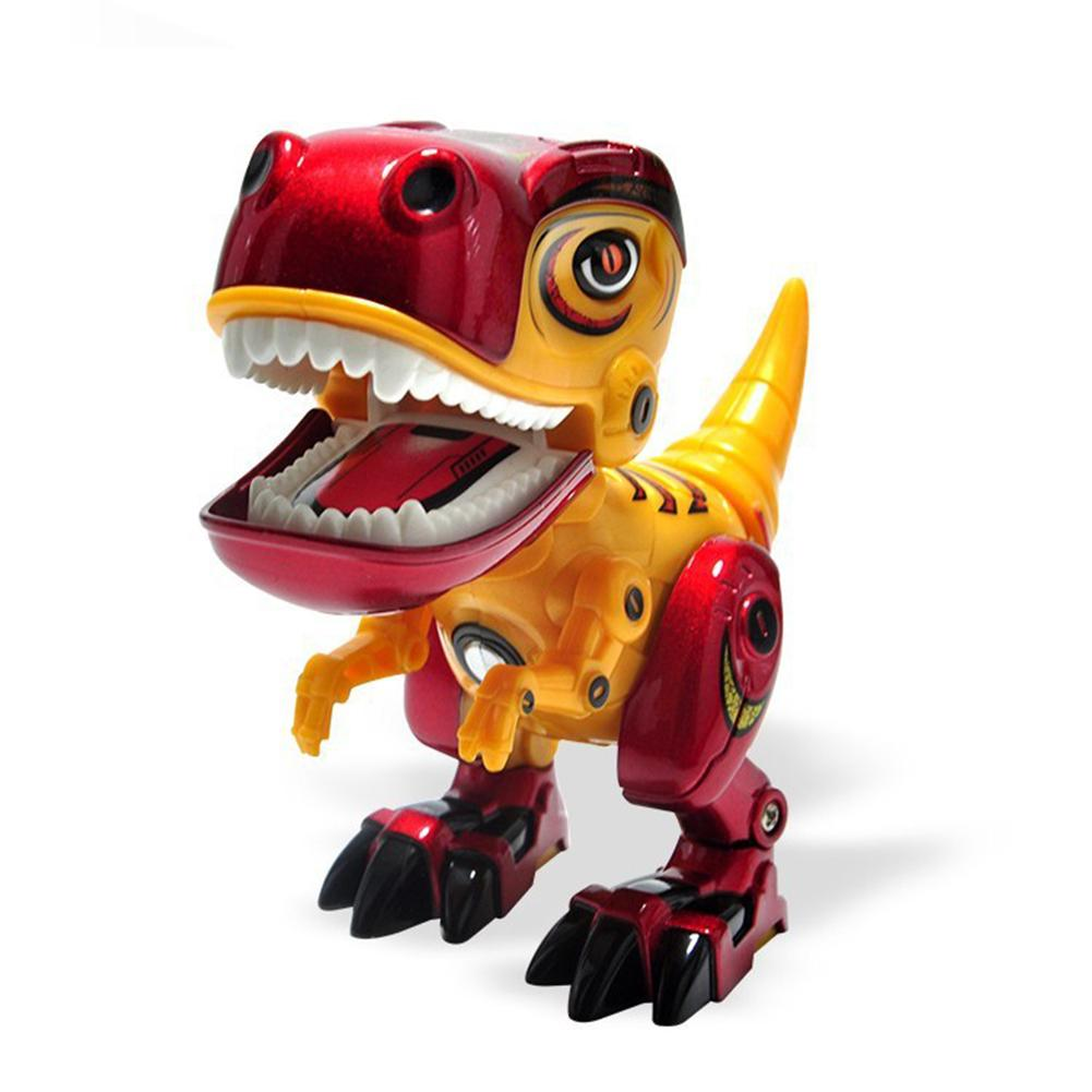 Dinosaur Remote Control Electronic Robot With Light Sound For Kids Baby Toys Christmas Gift Animal Toys For Children