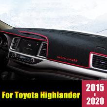 Для toyota highlander xu50 kluger 2015 2019 2020 приборной панели