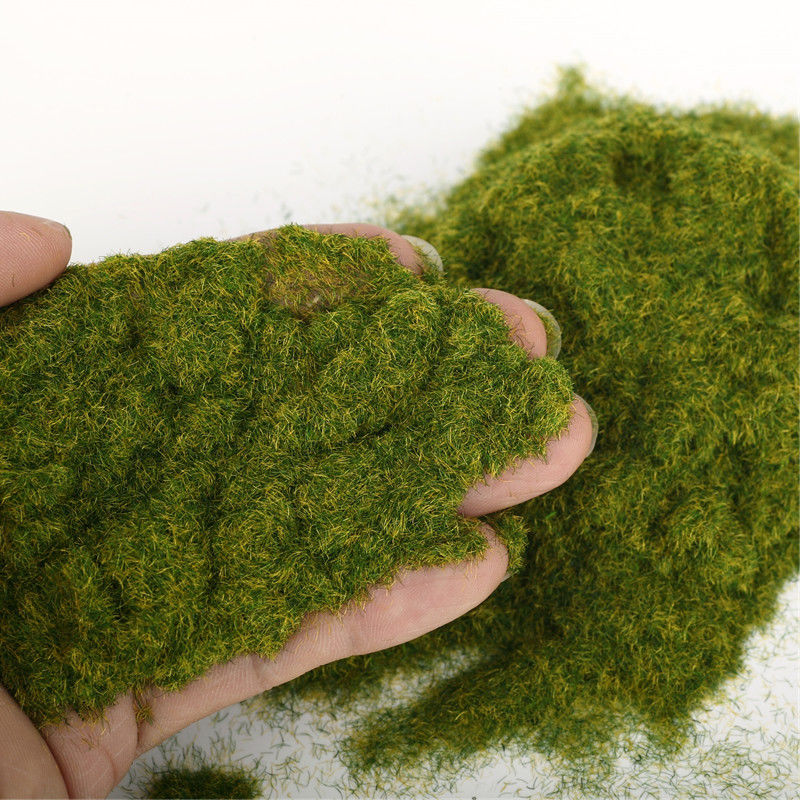30g Miniature Scene Model Materia Turf Flock Lawn Nylon Grass Powder STATIC GRASS 3MM/ 5MM 8/MM Modeling Hobby Craft Accessory