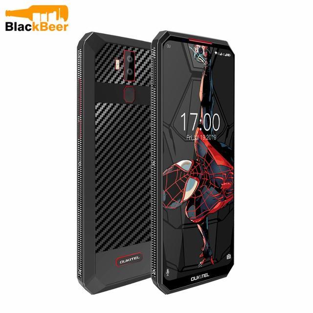 "OUKITEL K13Pro K13 Pro Android 9.0มาร์ทโฟน6.41 ""โทรศัพท์มือถือ4G LTE 4GB 64G ROM MT6762 11000MAh 5V/6A Quick Chargeโทรศัพท์มือถือ"